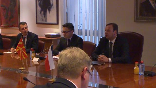 Средба на Димитриев со чешкиот министер за надворешни работи Заоралек