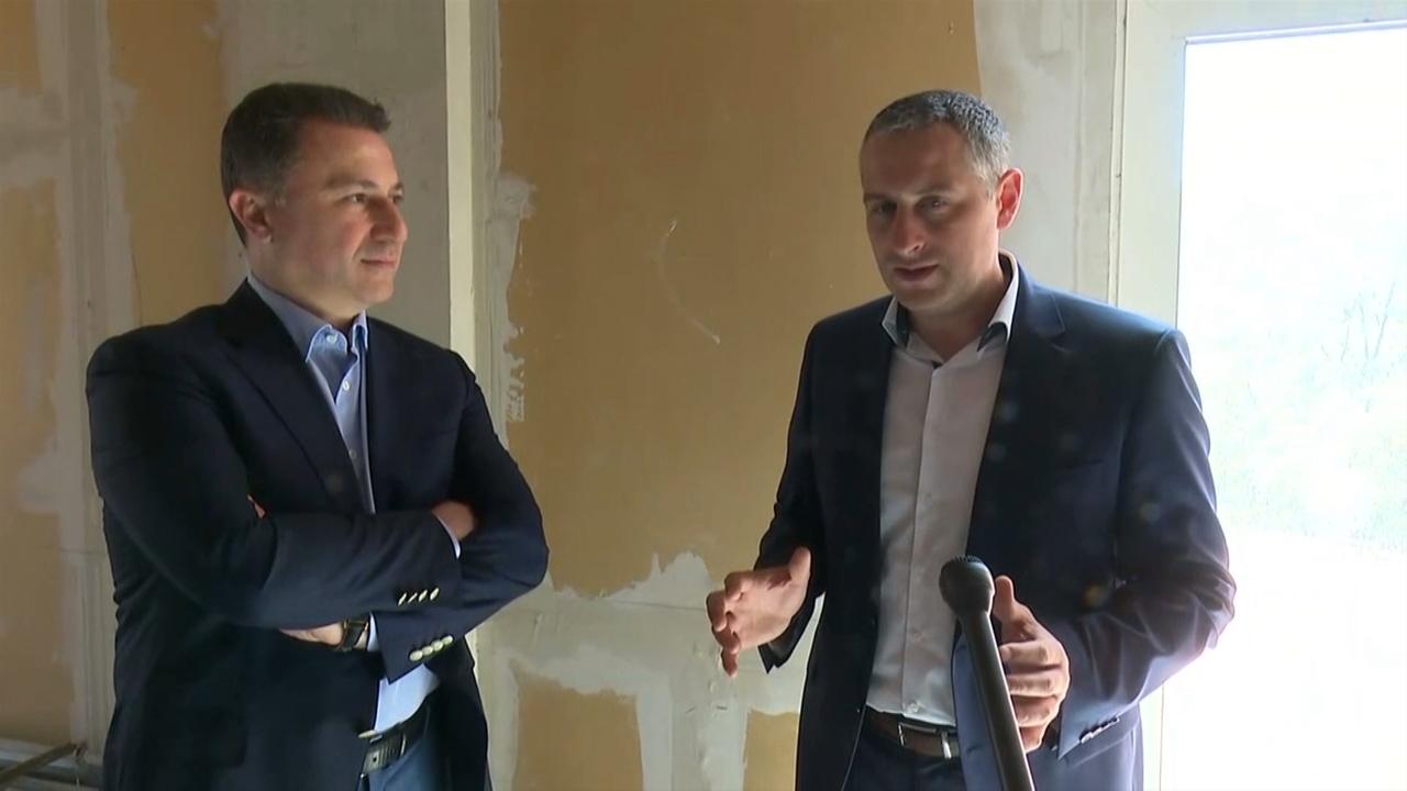 Груевски: Продолжуваме со огромни градежни зафати и инвестиции во здравствените капацитети во Македонија