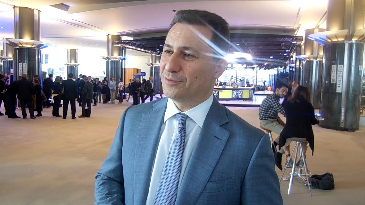 Груевски: Средби во Брисел за санирање на штетите од кризата што ја предизвика опозицијата
