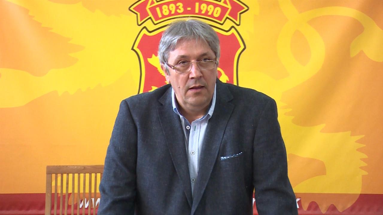 Зоран Дамјановски го кочи проектот за изградба на спортска сала