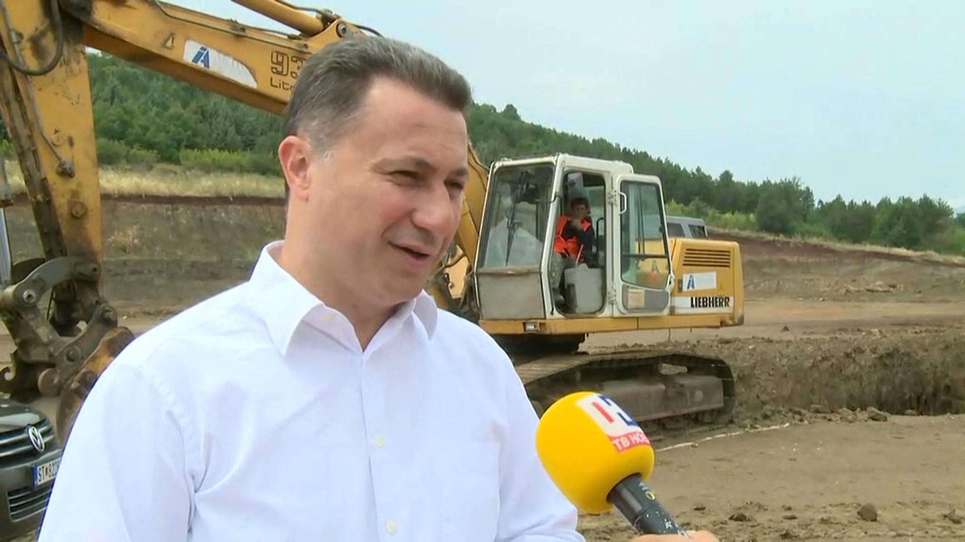 """Груевски: Нови 280 работни места во фабриката на """"Краунфилд"""", невработеноста во Пробиштип е преполовена"""