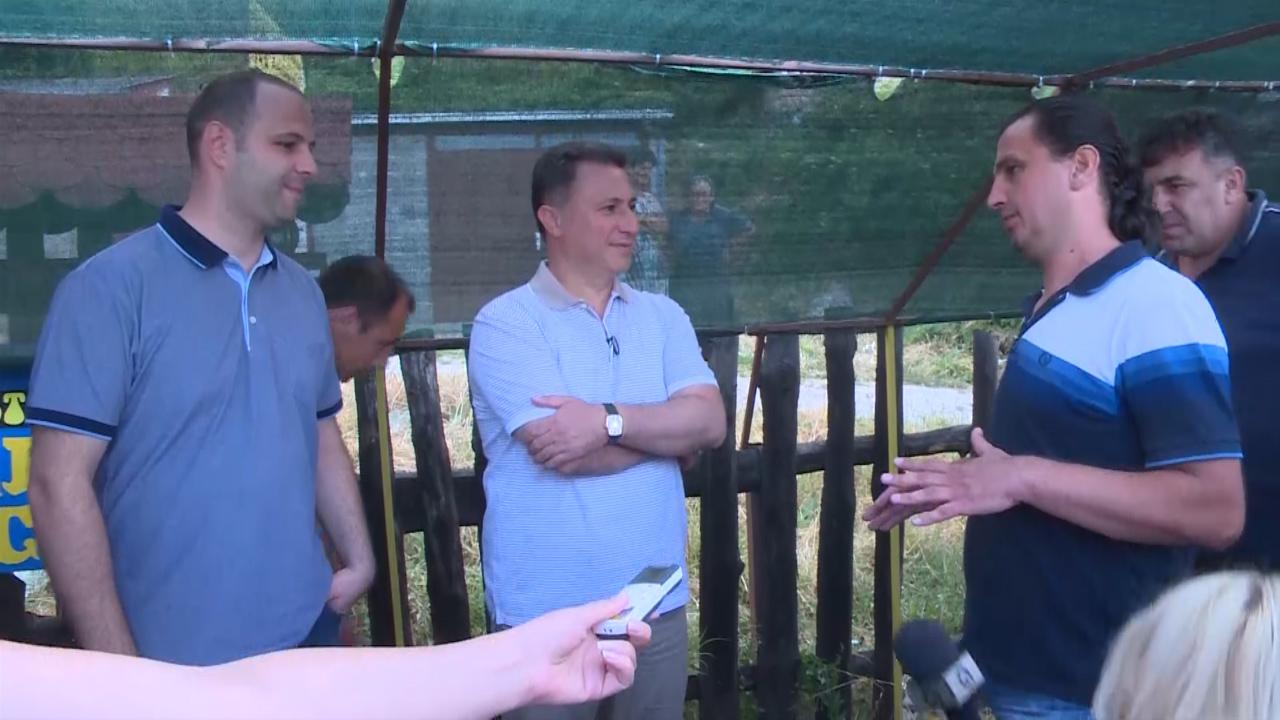 Груевски на средба со жителите на Радожда, најдени решенија за повеќе барања на граѓаните