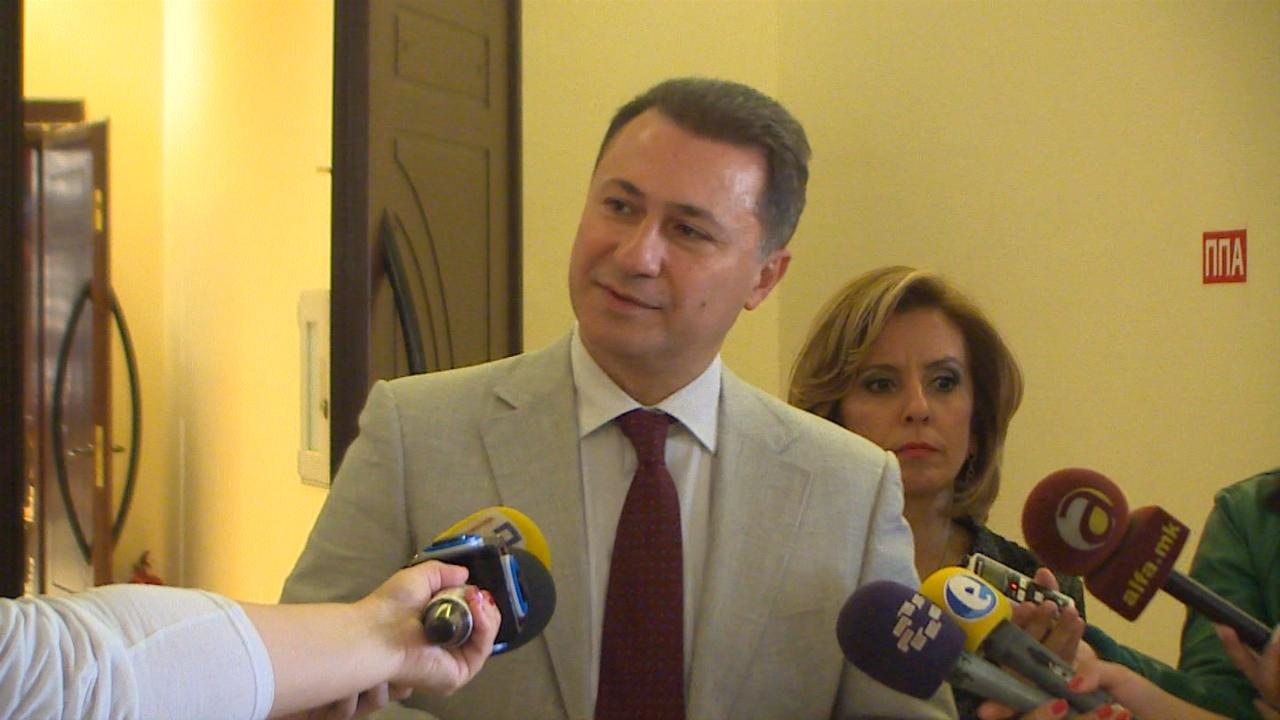 Груевски: Ноемвриската пензија ќе се зголеми за 5 проценти