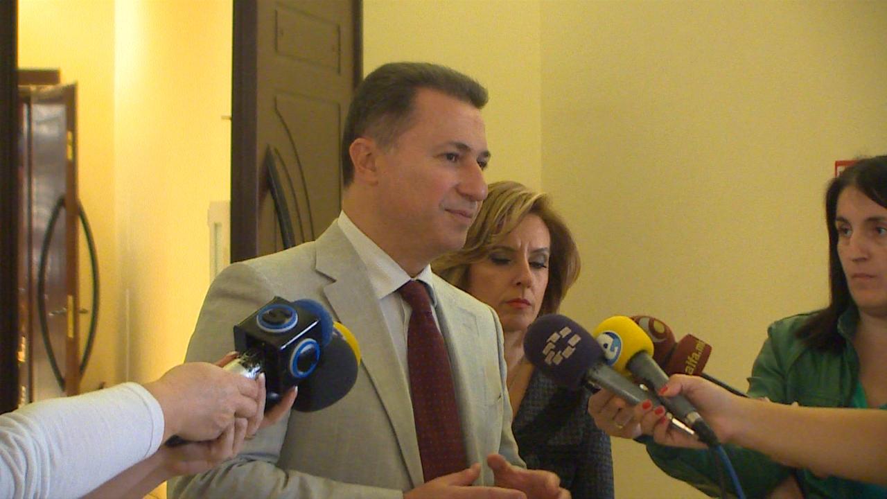 Груевски: Парите кои студентите требаше да ги платат за превоз останаа во нивните џебови- се заштедуваат 400.000 евра месечно