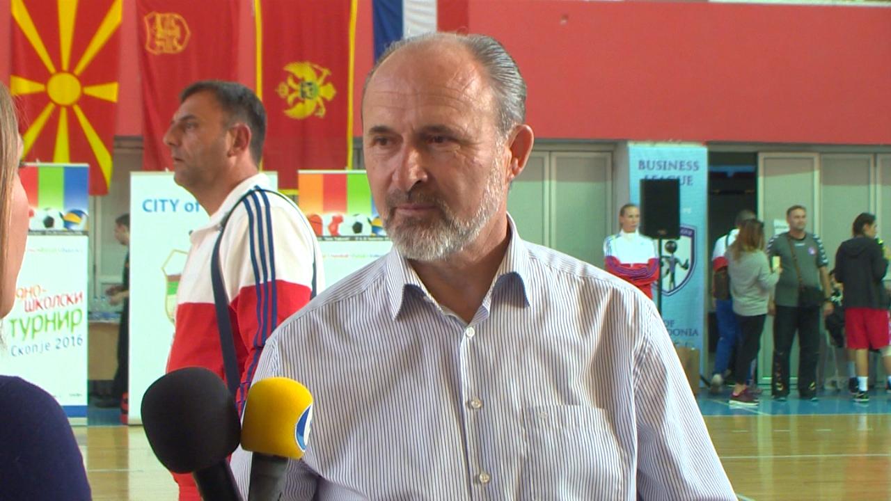 Скопје домаќин на Меѓународен средношколски турнир- доделени награди на најуспешните, Градот ќе продолжи да инвестира во спортот
