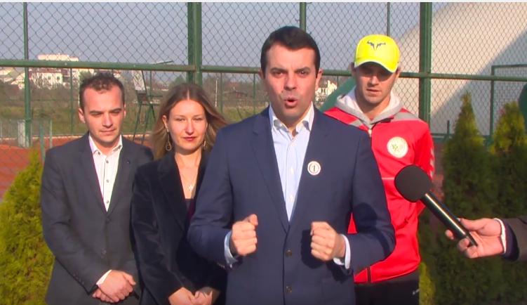 Попоски: Нови тениски игралишта во Скопје