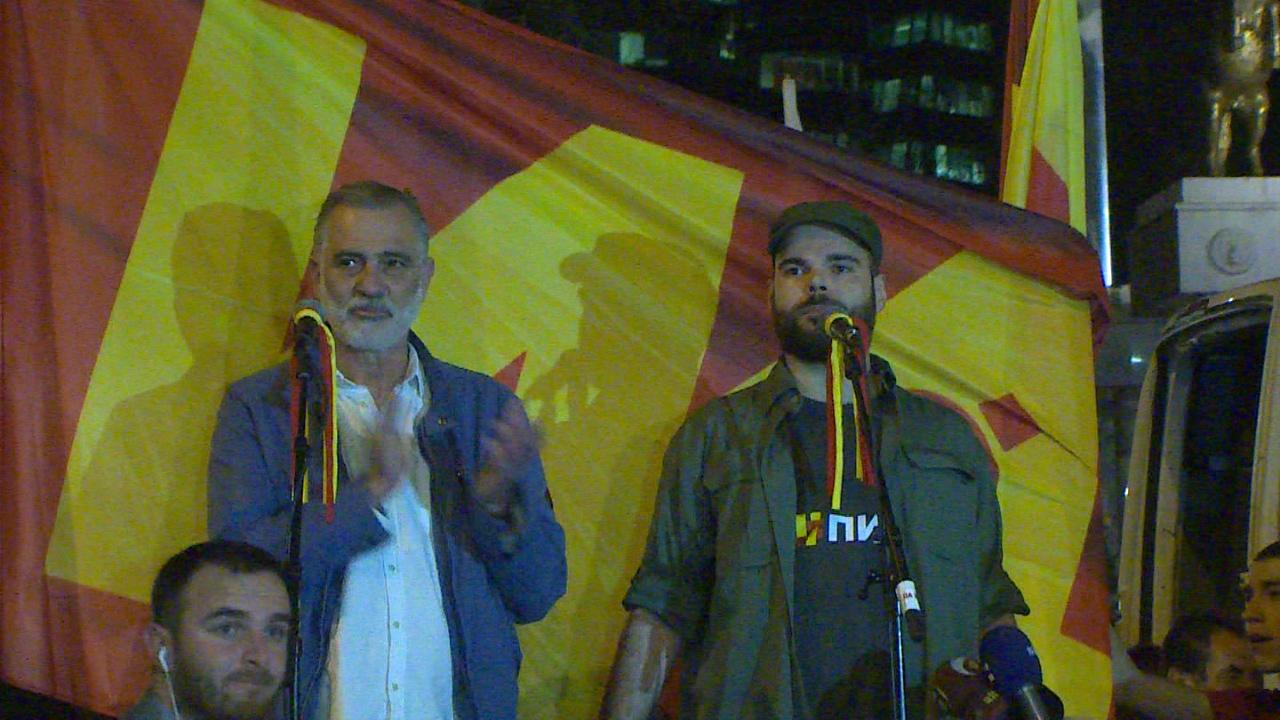 Илиевски: Заев рече ќе има влада до 24-ти, ние граѓаните на Македонија ви гарантираме нема да има влада основана на Тиранската платформа