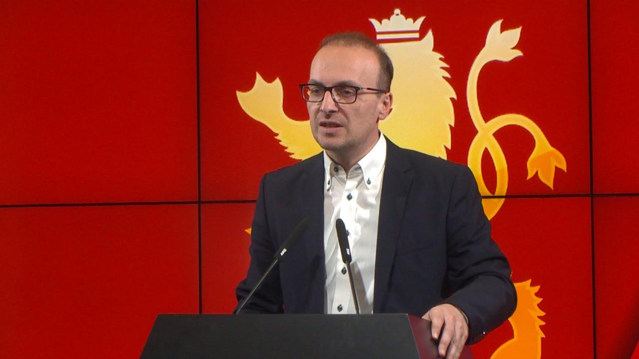 Милошоски: Главното прашање денес е што сака да сокрие Зоран Заев во предлог програмата на новата Влада?