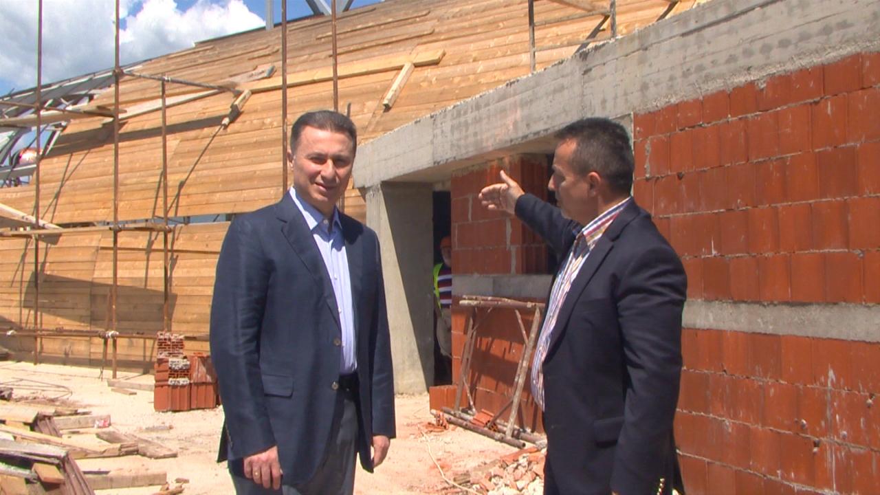 Груевски: Досега се изградени 63 мали хидроелектрани кои партиципираат во електроенергетскиот систем