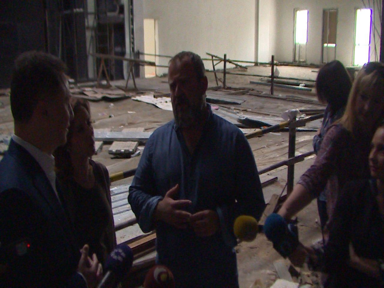 До крајот на годината ќе заврши темелната реконструкција на Албанскиот театар