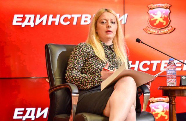 Андоновска: Проектите на ВМРО-ДПМНЕ во здравството не може да се премолчат или сокријат, бидејќи граѓаните чувствуваат директна корист од нив