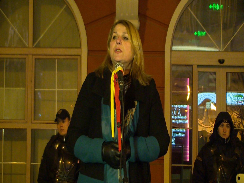 Кузмановска: Граѓаните очекуваа подобар живот од оваа власт, а не апсење на луѓе кои си ја сакаат државата