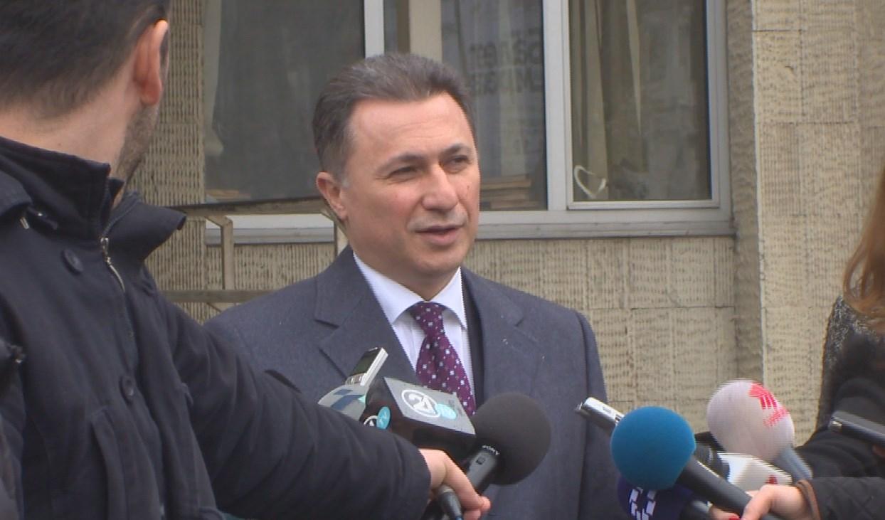 Груевски  На 23 декември да имаме избор што ќе биде без никаква дамка