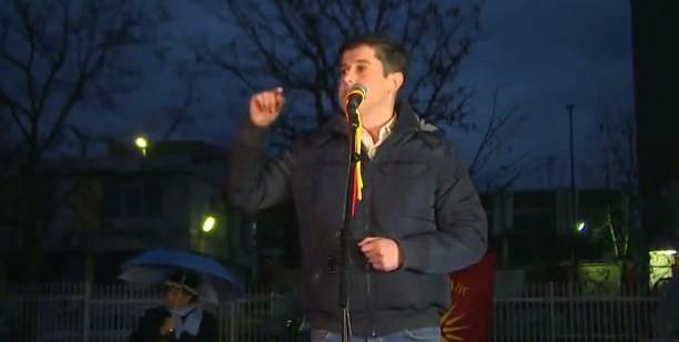 Србов  Ние денес имаме политички прогон и секој што не се согласува со хунтата на власт е на мета