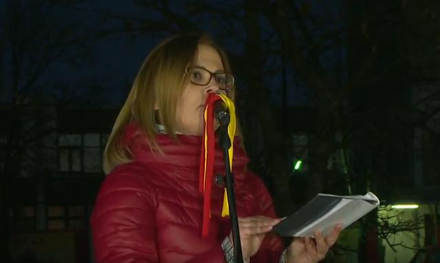 Стојаноска  Луѓето во затвор сега се арчат за Македонија  ВМРО ДПМНЕ бара веднаш да престане овој политички прогон
