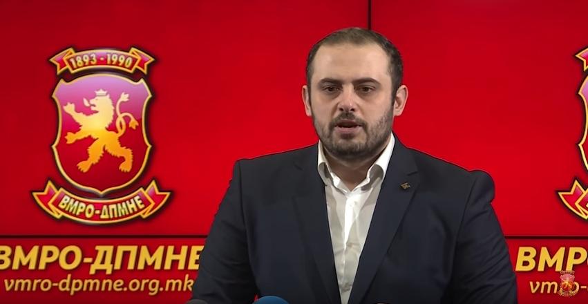 Со овој неуставен и штетен закон, без постоење на реална потреба се наметнува двојазичноста во Македонија