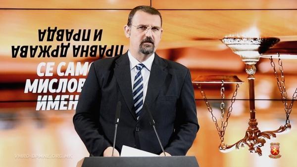 Стоилковски: Невини луѓе кои не оствариле никаква имотна корист се осудуваат со драконски казни, а Заев кој бараше поткуп се ослободува од каква било одговорност